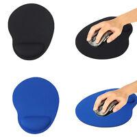 Neu Soft Mauspad mit Handlenkauflage Gel Mousepads Mouse Ergonomisch Pad Blau
