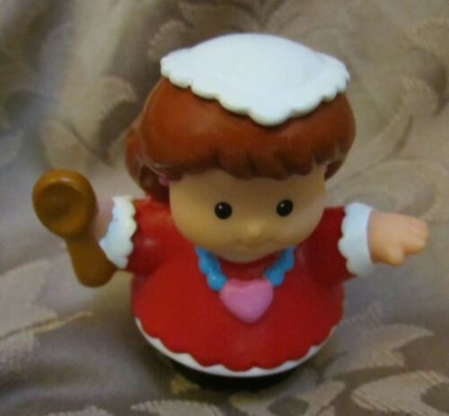 Fisher Price Little People Hanukkah Celebration Holiday Set Candle mom lady girl