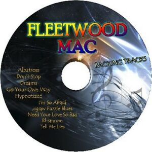 FLEETWOOD-MAC-GUITAR-BACKING-TRACKS-CD-BEST-OF-GREATEST-HITS-MUSIC-PLAY-ALONG