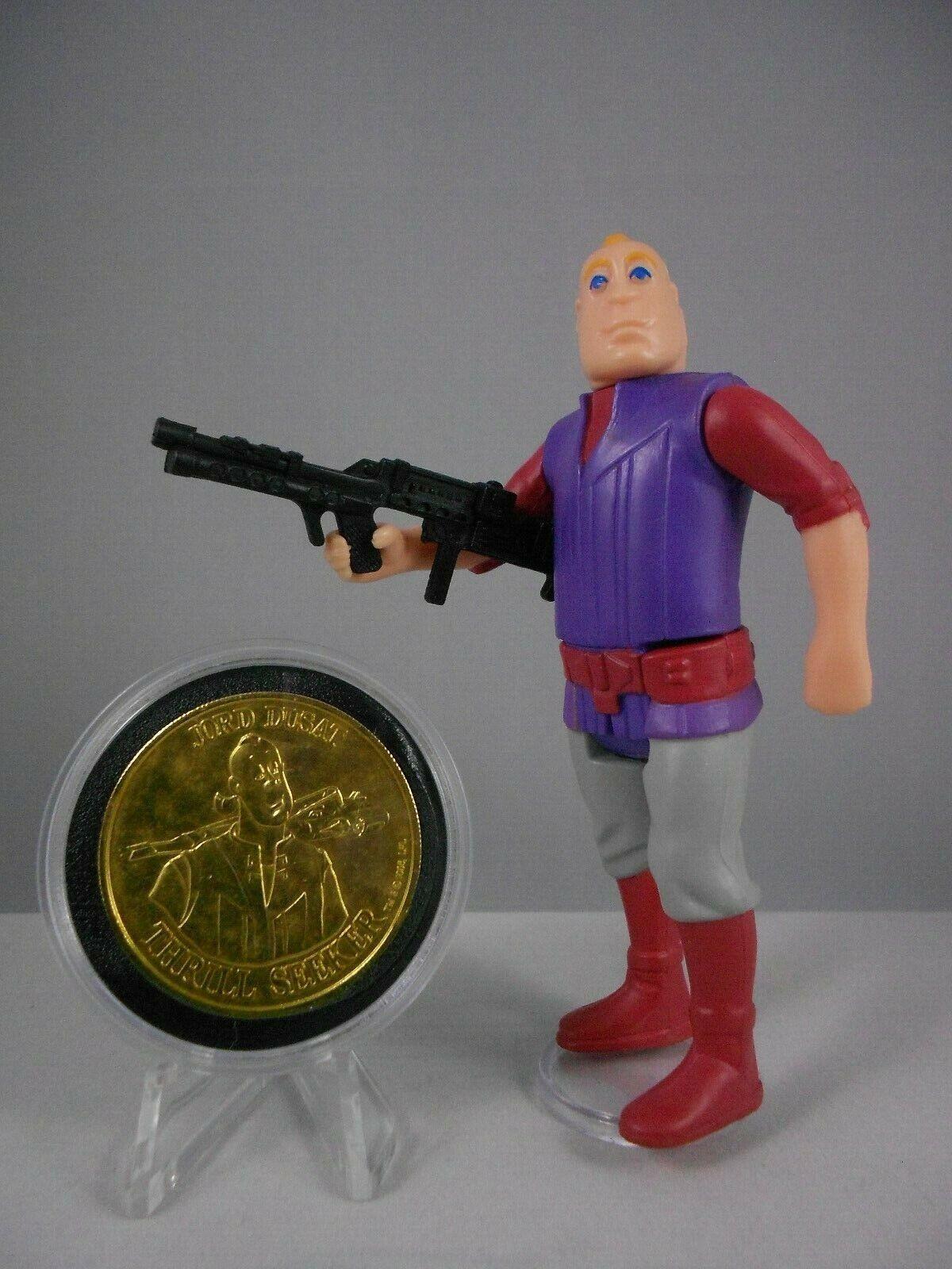 Vintage Star Wars Droids 1985 Jord Dusat  E N Mint w Droids Coin & Weapon No COO