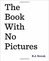 The Book With No Pictures, New, Free Shipping on sale