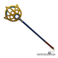 Final Fantasy X FF10 Yuna Wand Summoning Cane Staff Cosplay Weapon Props Canne