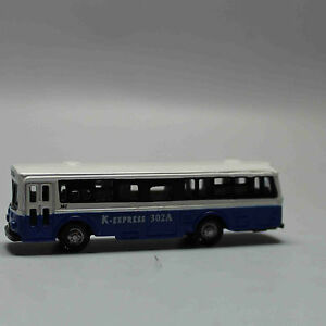 N-Scale-Railway-1-160-Diecast-Mini-Buses-Model-White-and-Navy