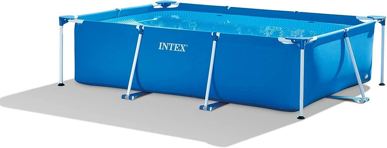 Intex Large Rectangular Frame Swimming Pool - 300 x 200 x 75 cm