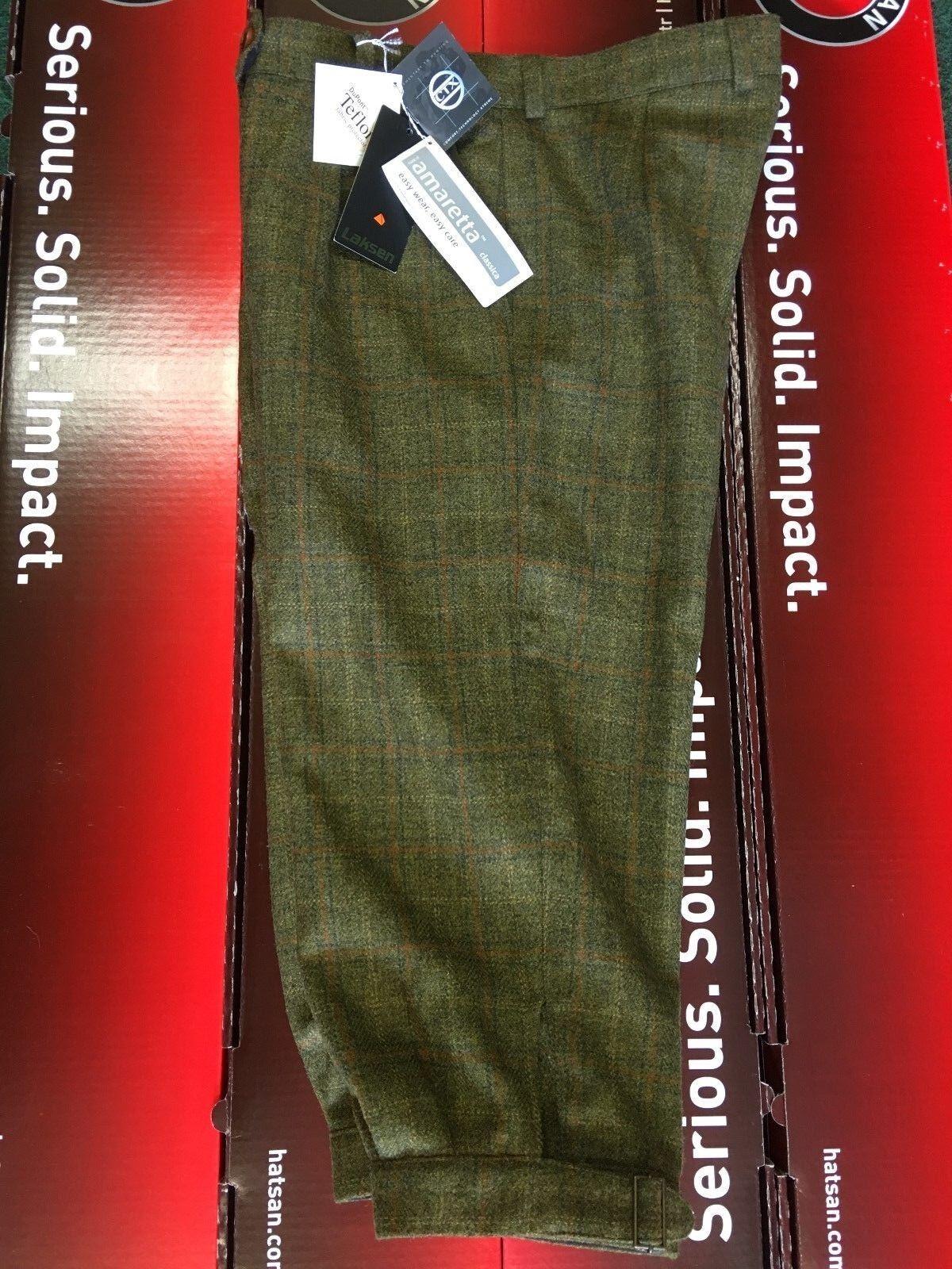 Ladies Laksen Tweed Plus Two's Waterproof Breathable CTX Membrane Size 14