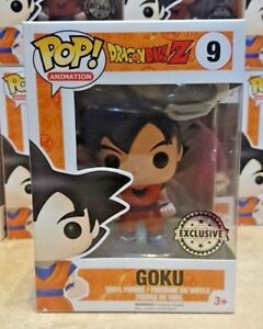 Funko Pop!   Animation Dragonball Z Goku aux cheveux noirs Exclusive 09 2018 849803041298