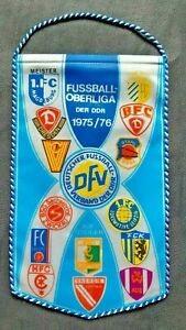 Orig-Wimpel-DDR-Oberliga-1975-76-Fussball-Jahreswimpel-Jena-Magdeburg-Chemie