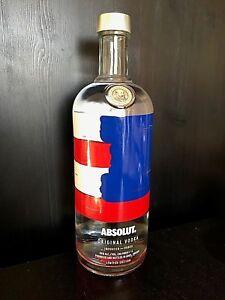 Wonderbaar VERY Rare ABSOLUT Vodka Limited Edition USA America Empty Large 1 XF-78