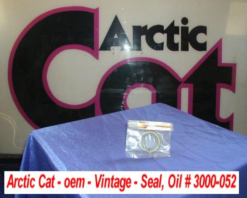Arctic Cat Snowmobile Engine Crankshaft Oil Seal Vintage 292cc