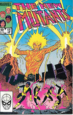 The New Mutants Comic Book #12, Marvel Comics 1984 NEAR MINT NEW  UNREAD