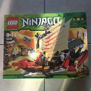 LEGO 9446   NINJAGO - LE QG DES NINJA neuf boite SCELLEE