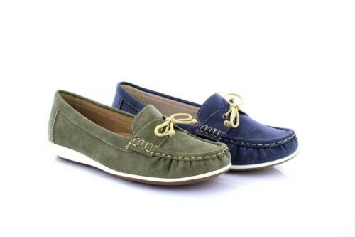 Boulevard L468 Apron Saddle Summer Casual Moccasin Shoes