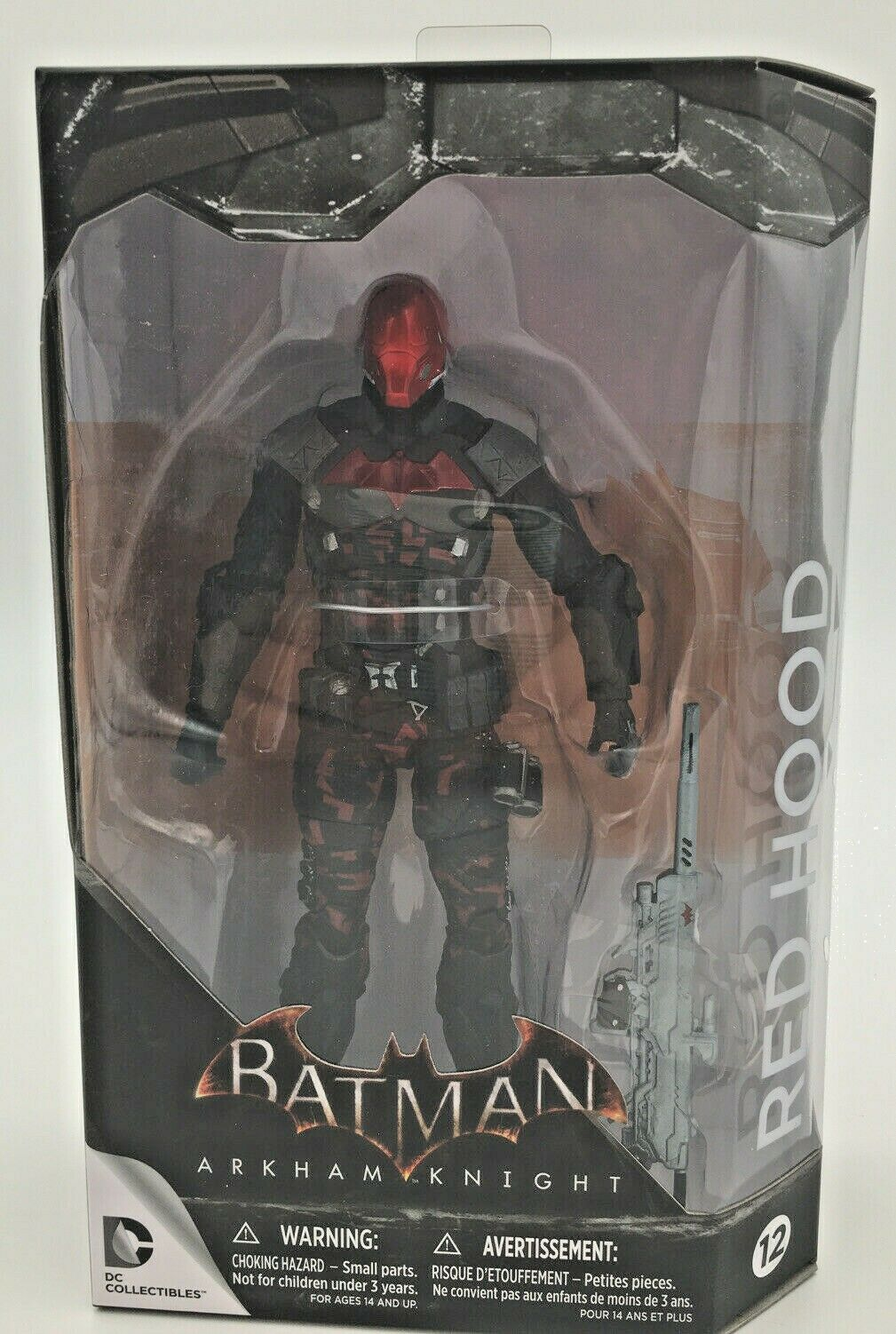 Red Hood Figure Batman Arkham Knight 12 Jason Todd Dc Collectibles Version 2 S3 For Sale Online Ebay