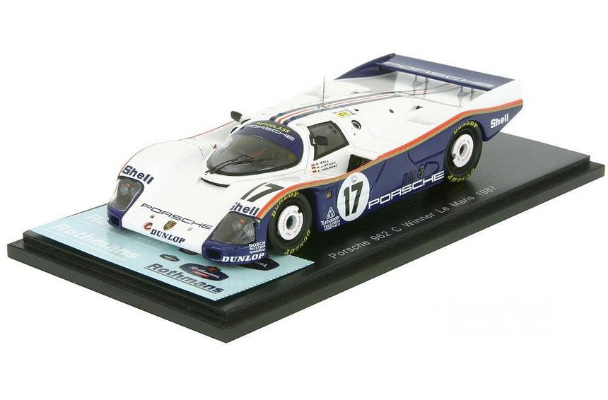 Porsche 962C Winner  24h le mans 1987  43LM87 Sparkmodel