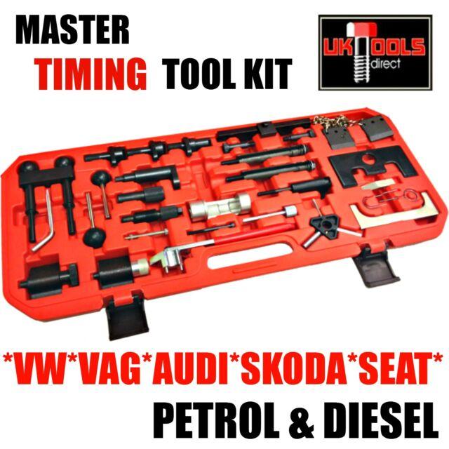 VOLKSWAGON Timing Tool Complete Master Kit VAG VW AUDI PETROL DIESEL SEAT SKODA