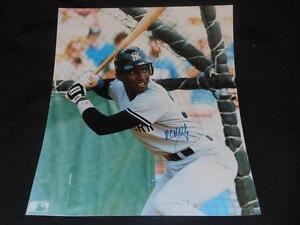 2000 New York Yankees Roberto Kelly Signed 8x10 Autograph Vintage Photo SR