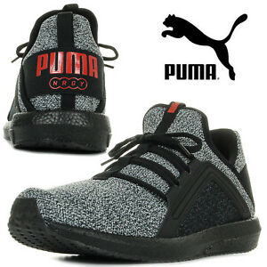 182f491406cb89 PUMA Men s Trainers MEGA NRGY Knit Sports Running Sneakers Jogging ...