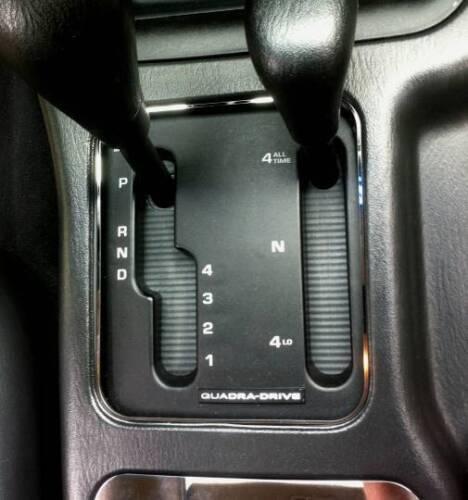 Schaltung  Edelstahl  7T. D Mercedes SL R129 Chrom Rahmen für Schalter Konsole