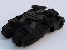 Custom Lego Batman Tumbler - Minifigure Scale - Dark Knight  - Instructions Only