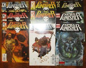 Punisher lot MARVEL MAX Space Barracuda Garth Ennis Wrightson Marvel Knights