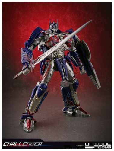 86New Transformers Unique toys UT R-02 OP Challenger Optimus Prime Gokin instock