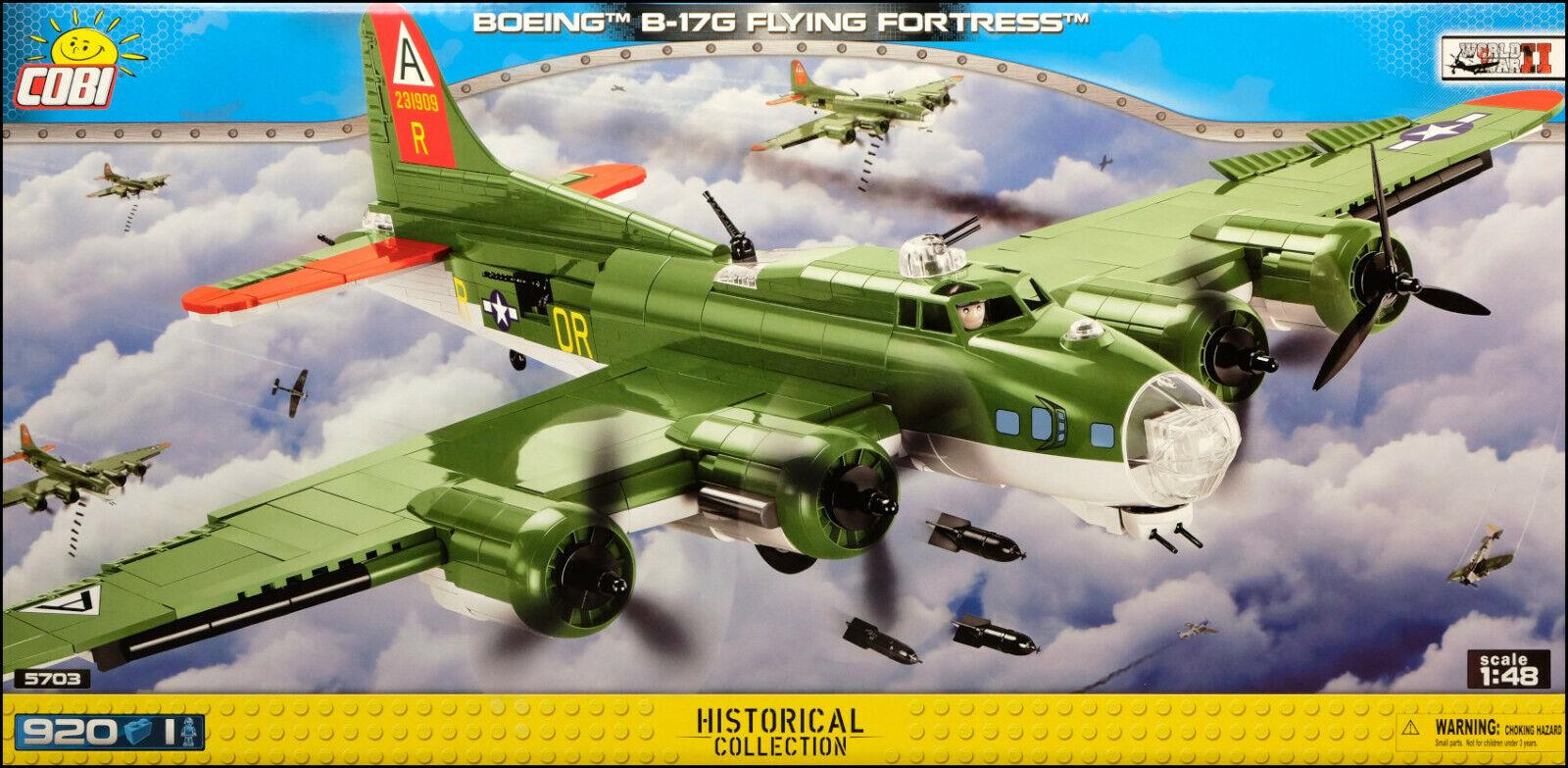 COBI B-17G Fliegening Fortress (5703) - 920 elem. - WW2 US heavy bomber