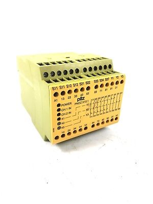 774749 Sicherheitsrelais PILZ PNOZ X10.1 24VDC 6n//o 4n//c 6LED