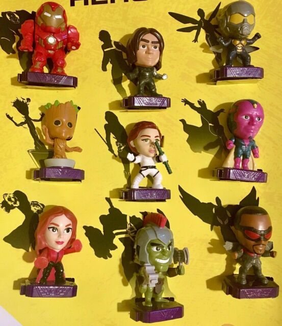 2020 McDONALD/'S Marvel Studios Heroes HAPPY MEAL TOYS Choose Toy or Set