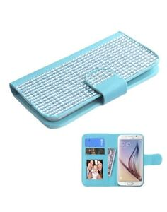 MyBat-Wallet-Case-for-Apple-iPhone-6-ASUS-PadFone-X-amp-Other-Smartphones-Blue