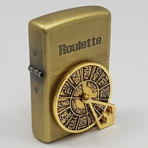 ZIPPO-Lighter-ROULETTE-BA-Made-in-USA-Reworked-at-Korea-with-unique-design
