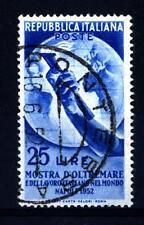 ITALIA REP. - 1952 - Mostra d'Oltremare e del Lavoro italiano - 25 L. - Globo e