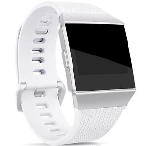 Fitbit-Ionic-Pulsera-de-repuesto-de-silicona-banda-relojes-pulsera-fitness-6x-lamina