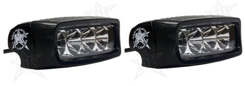 Rigid Industries 90511 SR-Q Series LED White Flood Light Set of 2