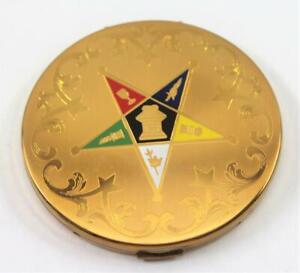 Vintage-Elgin-Masonic-Eastern-Star-Compact