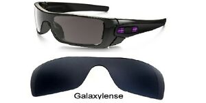 493dff58eb Image is loading Galaxy-Replacement-Lenses-For-Oakley-Batwolf-Sunglasses- Black-