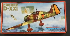 Pioneer-2-1-72-Fokker-D-XXI-Series-3-3004-Sealed-parts-Ships-from-the-US