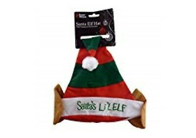 100% Vero Santa's Christmas Elf Hat Con Orecchie-