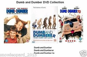 Details about DUMB AND DUMBER DUMBERER TO TRILOGY DVD TRIPLE PACK PART 1 2  3 MOVIE Jim Carry