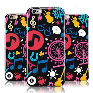 MUSIC-LIGHTNING-ROCK-GUITAR-TAPE-BRITISH-CASE-FOR-APPLE-IPHONE-MOBILE-PHONES