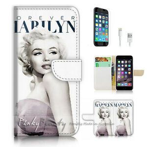 For-iPhone-7-Plus-Wallet-Case-Cover-P2954-Marilyn-Monroe