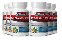 Organic Goldenseal Root Powder - Goldenseal Hydrastis 520 - Immune Vitamins 6b