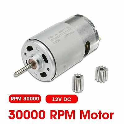 12V 30000RPM Electric Motor Gear 10Teeth For Kids Ride On Bike Toy Parts