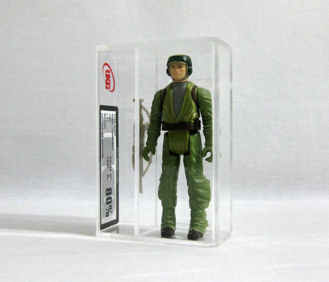1983 Vintage Star Wars ✧ Rebel Commando ✧ Kenner Figure UKG 80 85 AFA R2
