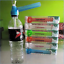 "HOOKAH MINI WATER BONG 5.79/"" INCH Screw on Bottle ASSORTED COLOR US"