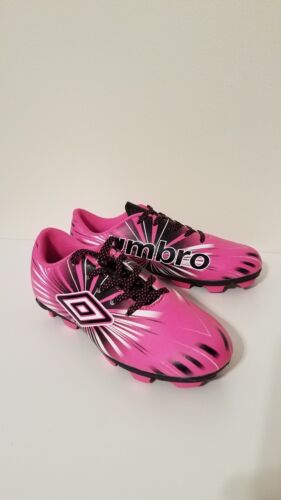 UMBRO Soccer Cleats Pink Size 1 Kids