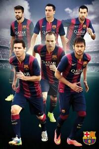 Barcelona-Players-2014-2015-Maxi-Poster-61cm-x-91-5cm-new-and-sealed