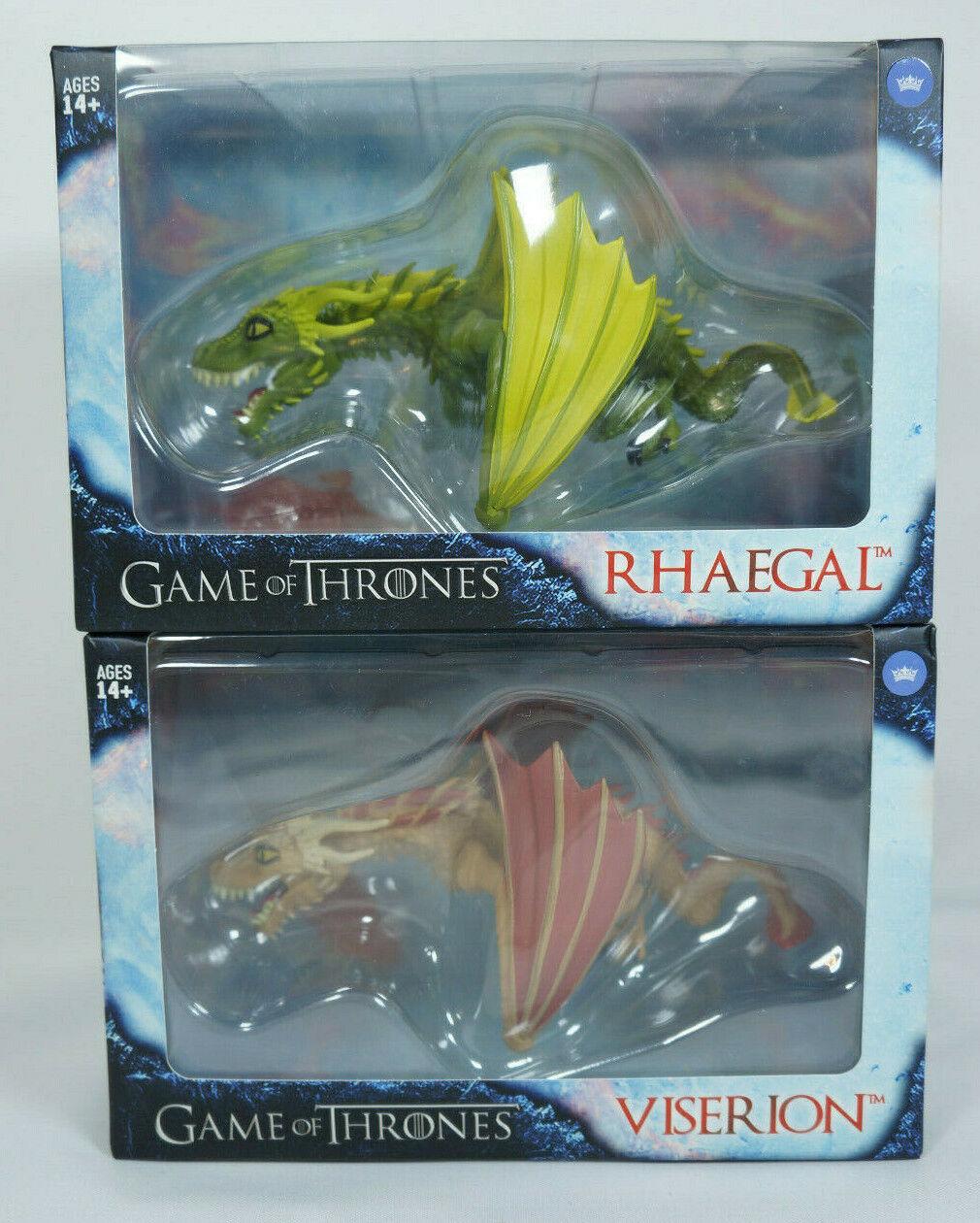 Les fidèles sujets viseron et Rhaegal Game of Thrones GoT édition limitée