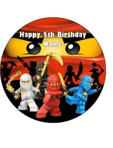 Outstanding Lego Ninjago Edible Wafer Paper Birthday Cake Decoration 12 Funny Birthday Cards Online Inifofree Goldxyz