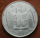 1940 Regno D'Italia 1 lira XVIII magnetica, Errore Evanescente