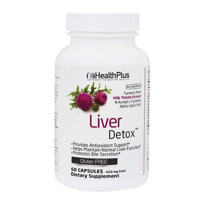 Health Plus Liver Detox, Capsules 60 ea